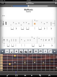 Guitar pro sur iPad